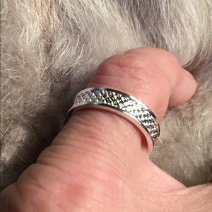 Jewelry - Textured Sterling Silver Ring